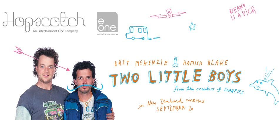 Win tickets for Kiwi Flick Two Little Boys!!!!