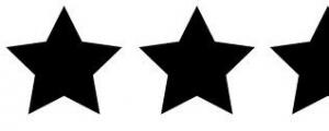 2 half stars