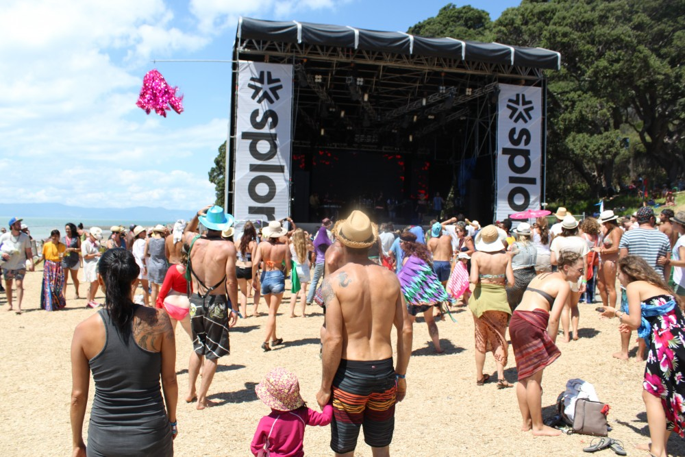 Splore main stage