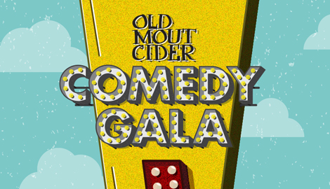 Old Mout Cider Comedy Gala logo