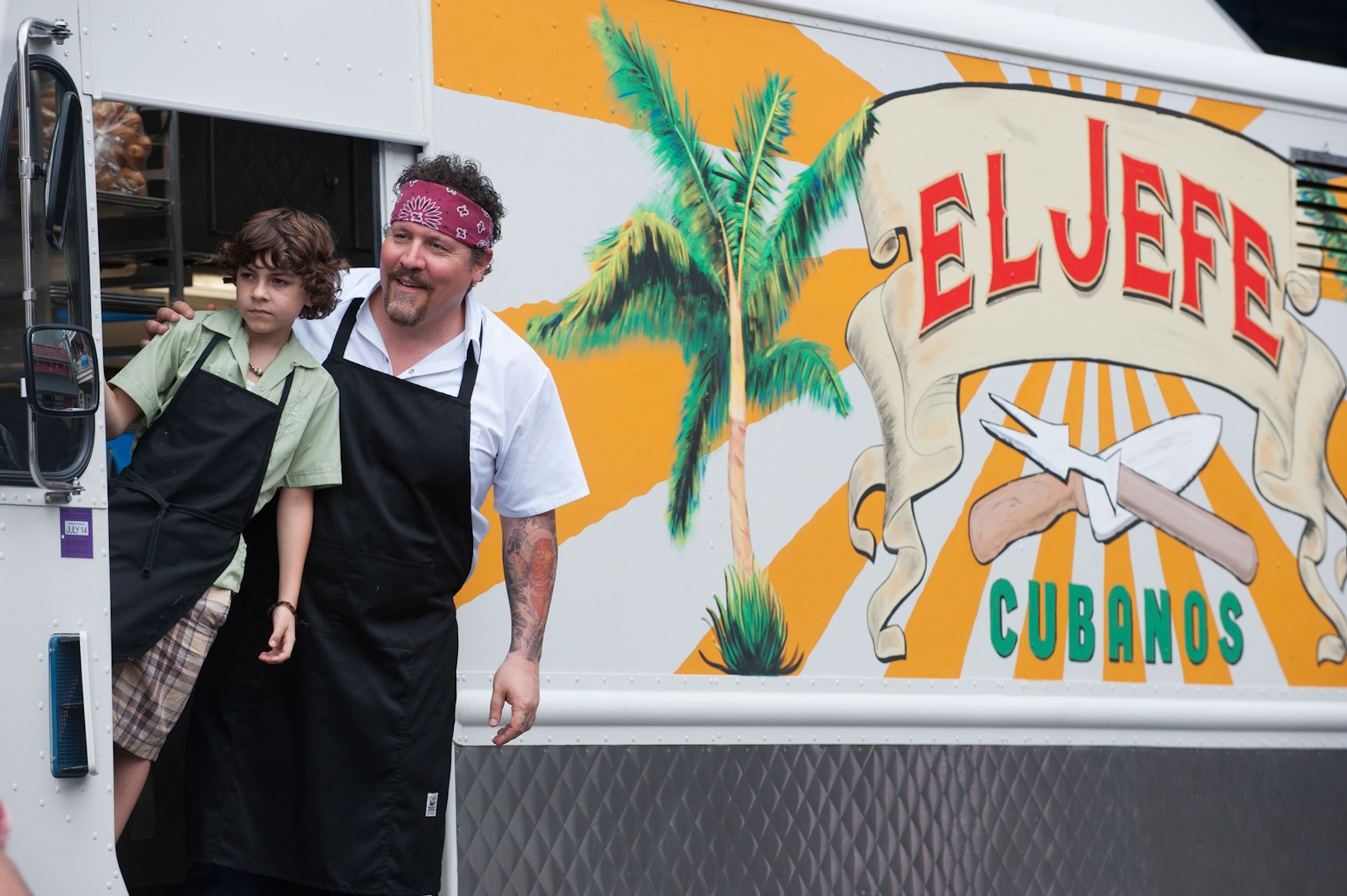 Jon Favreau as Chef in his food truck