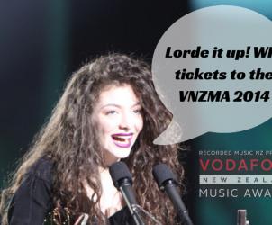 Lorde win tickets VNZMA