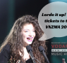 Lorde win tickets VNZMA