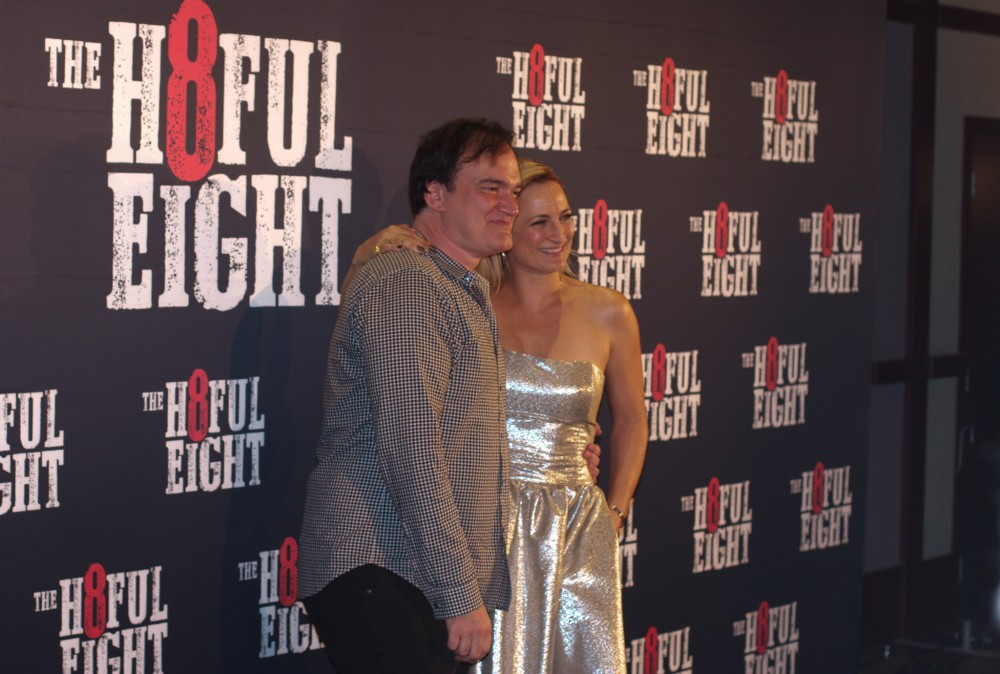 Quentin Tarantino & Zoe Bell in Auckland