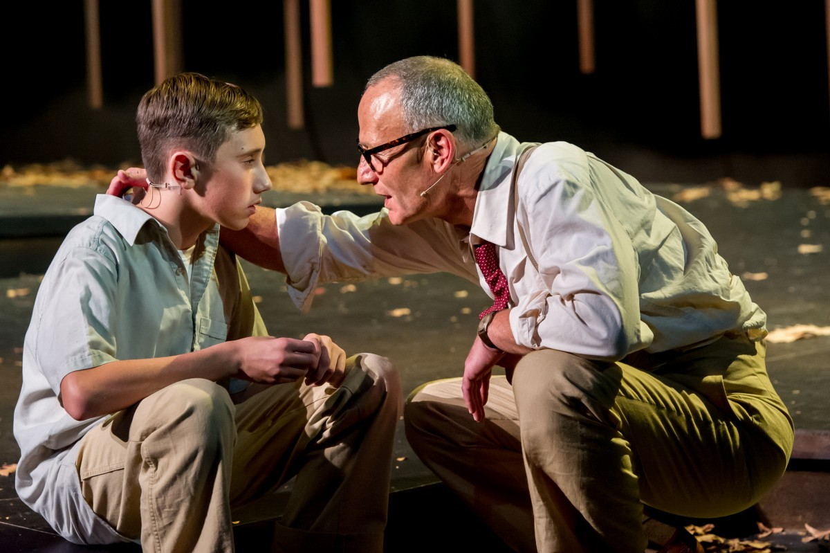 To Kill A Mockingbird. Harper Lee, adpt Christopher Sergel; dir Colin McColl. Cast: Simon Praast, Ian Mune,Goretti Chadwick,Fasitua Amosa, Kevin Keys, James Maeva. Auckland Theatre Company production. Production Photos - Michael Smith