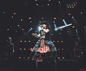 Axl Rose guns n roses not in this lifetime nz