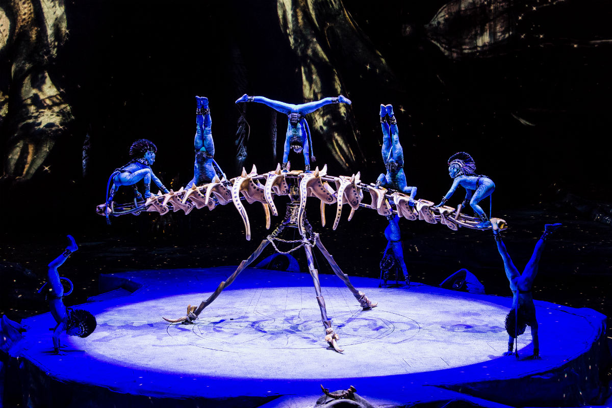 Cirque du Soleil- Toruk - the First Flight-auckland-review