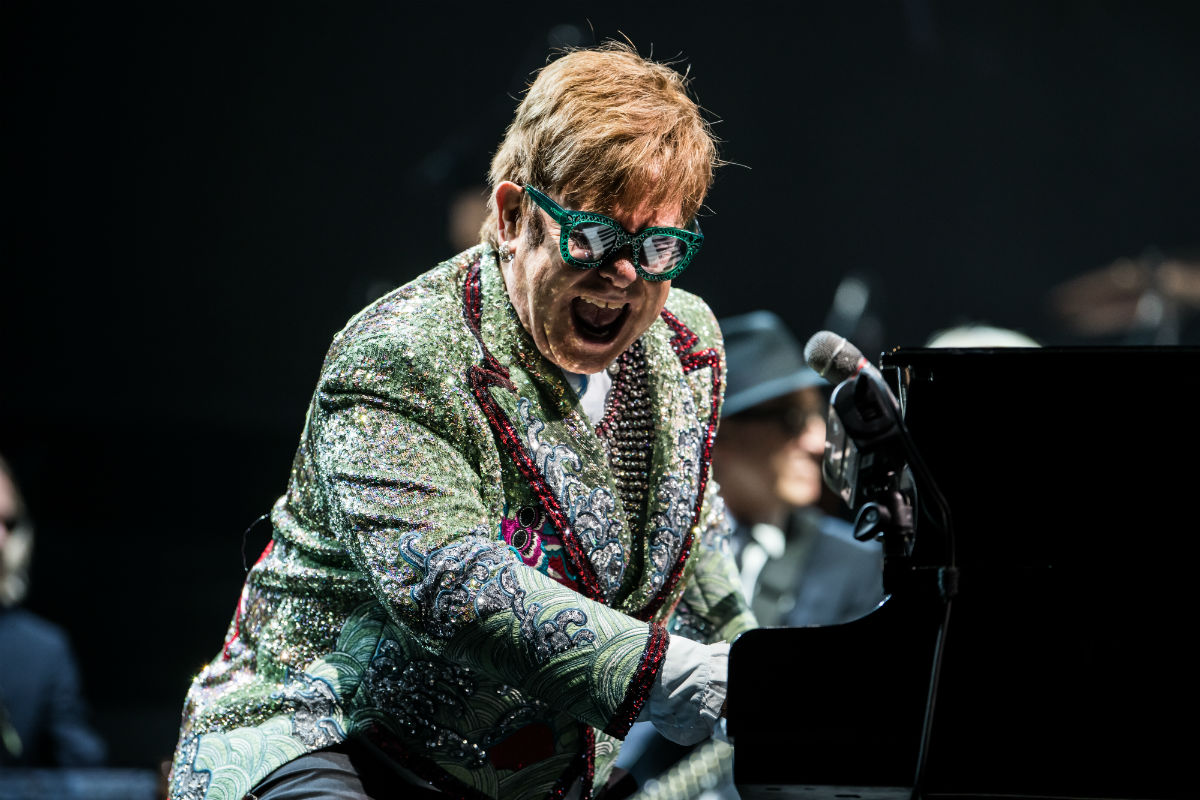 elton john Farewell Yellow Brick Road