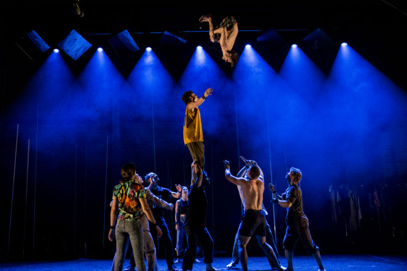 Backbone at Auckland Arts Festival redefines contemporary circus