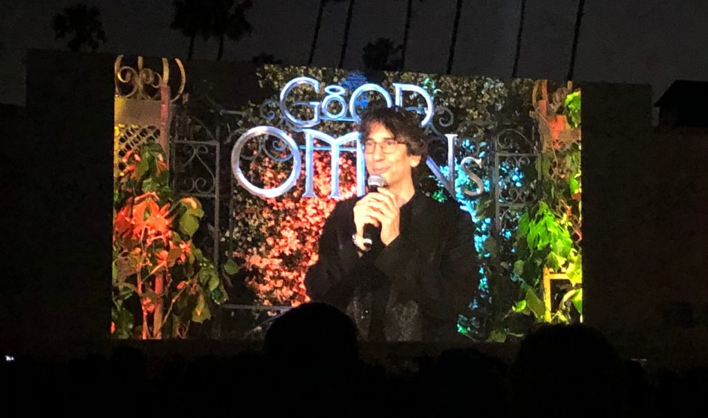 Good omens screening la